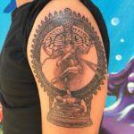 Shiva tattoo carola locke